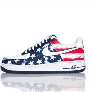 Air Force One American Flag Nike Sneakers